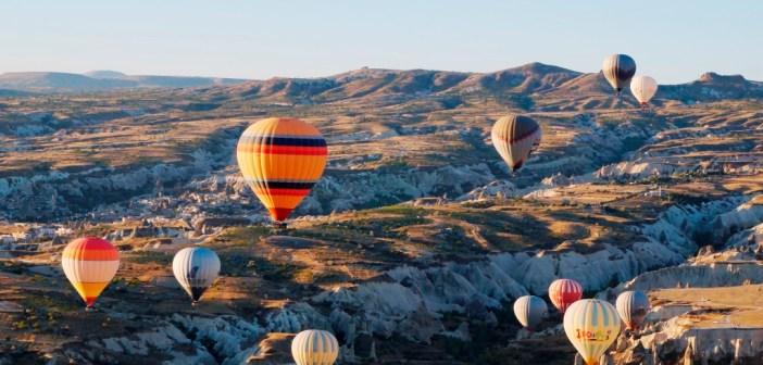 Doen in Turkije: wandelen en ballonvaren in Cappadocië.