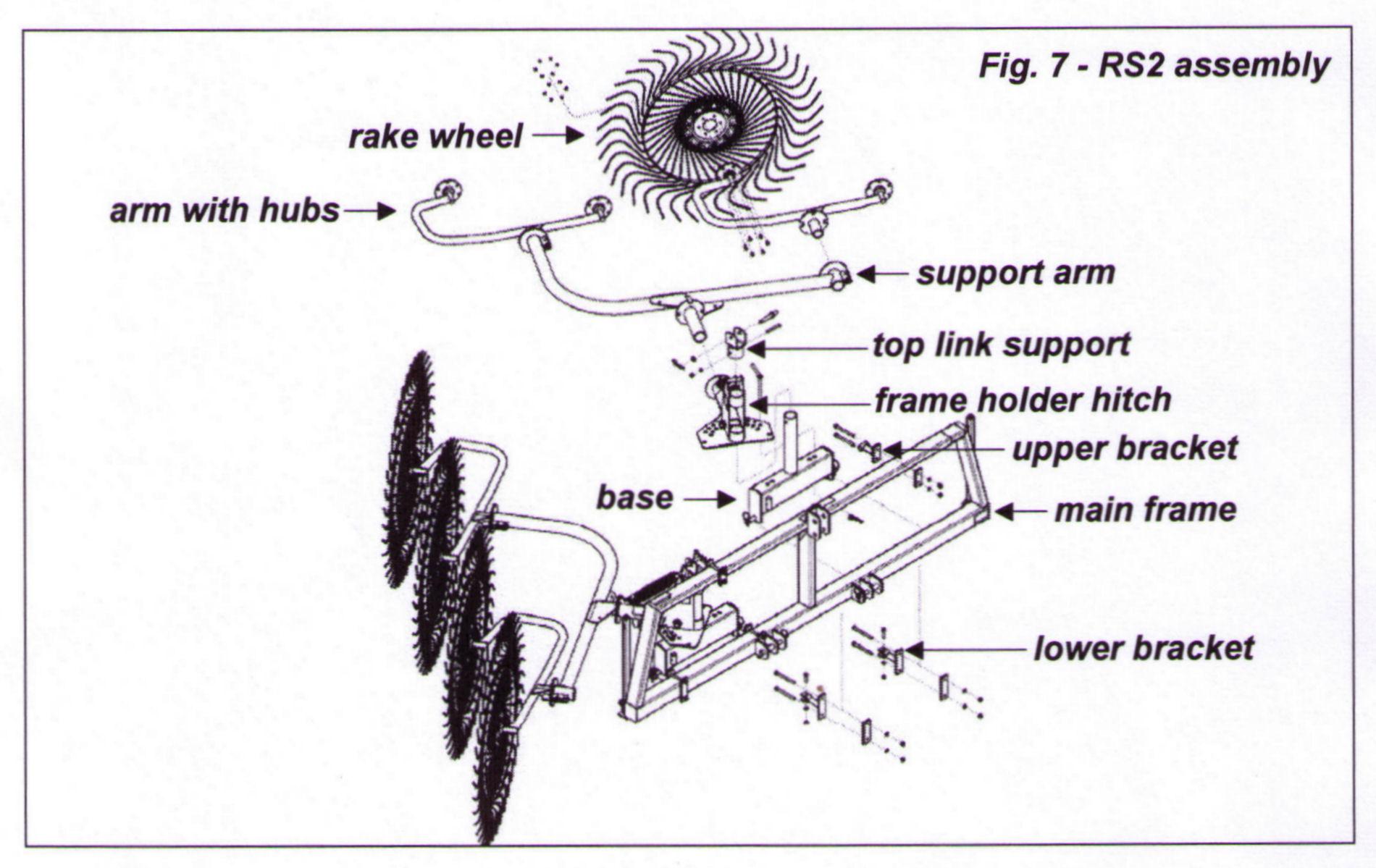 Kuhn Spreader Parts