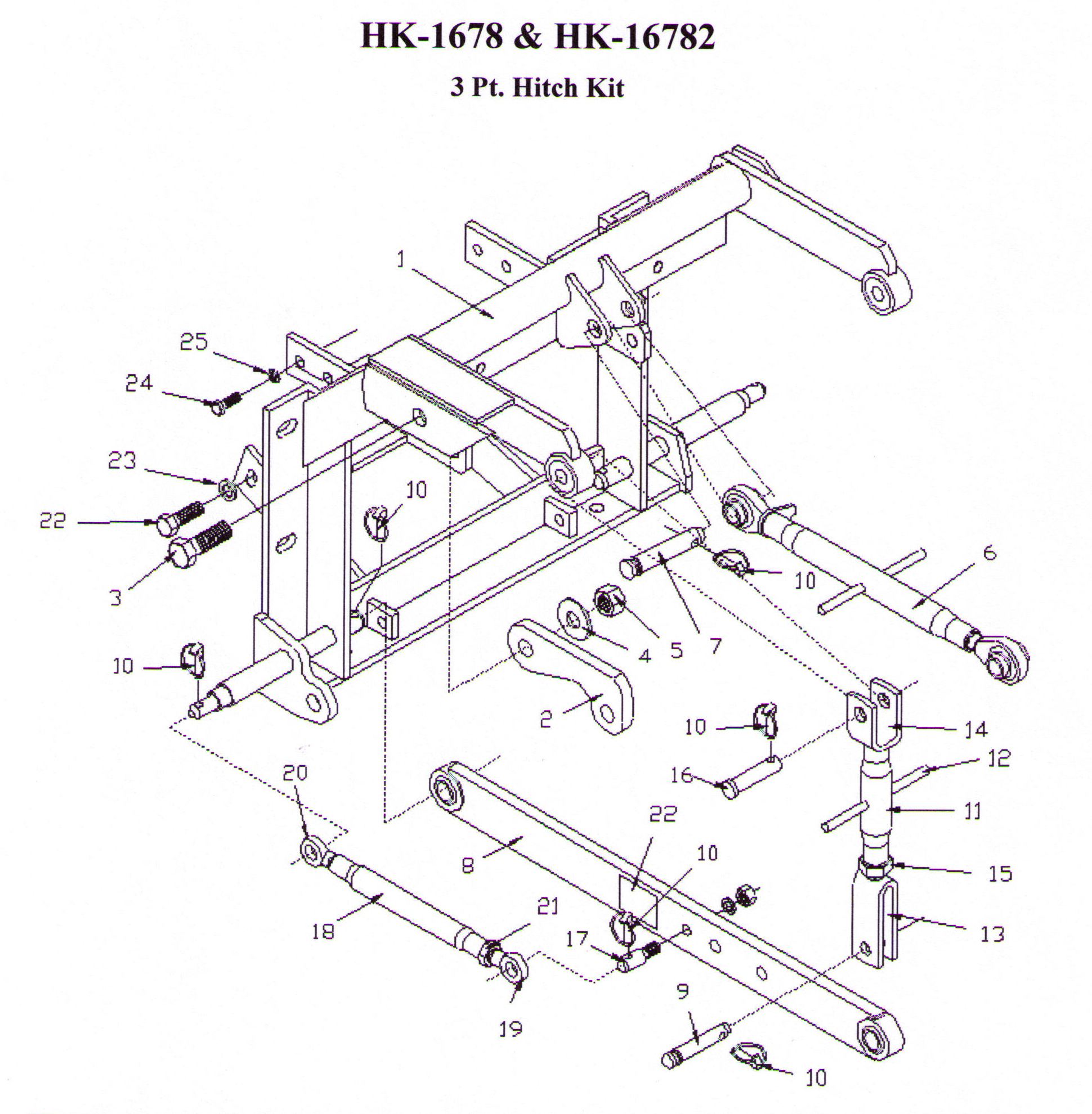 Cat 3 3 Point Linkage Dimensions