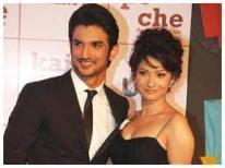 Ankita Lokhande with her ex-boyfriend Sushant
