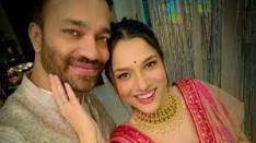 Ankita Lokhande with her boyfriend Vicky