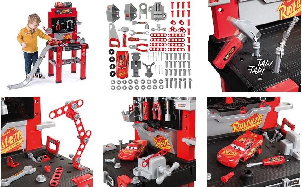 herramientas cars 3, bricolaje cars