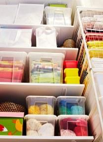 cajas ordenar accesorios costura