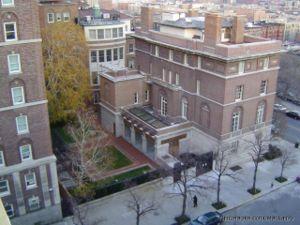 Columbia president's mansion