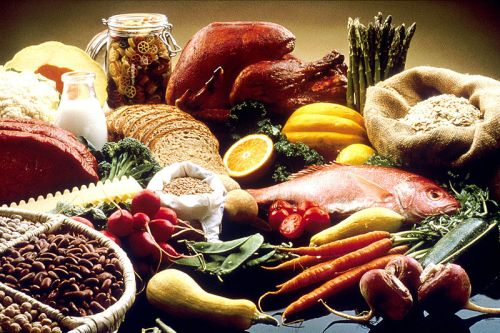 Balanced good healthy food for diabetes