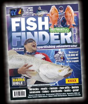 latest FISH FINDER book