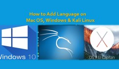 How to Add Language on Mac OS, Windows and Linux