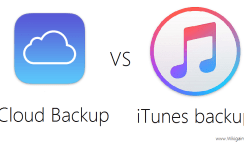What's the Differences between iCloud Backup and iTunes Backup