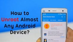 Unroot Android Devices without Computer