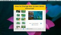 How to Change Mac Screen Saver