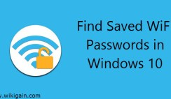 How to Find Saved WiFi Passwords in Windows 10