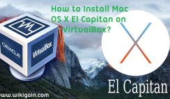 Install Mac OS X El Capitan on VirtualBox