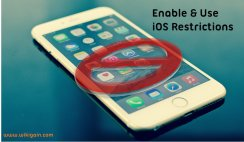 How to Enable & Use Restrictions on iOS Devices?