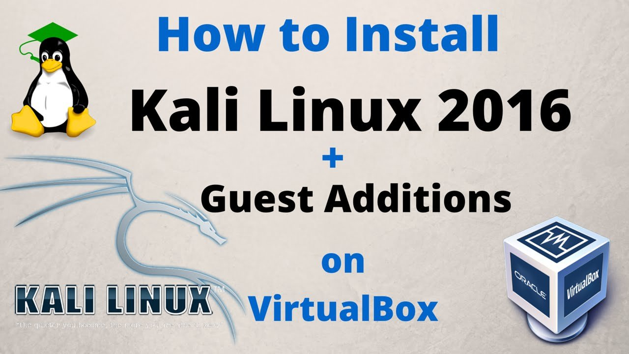 install virtualbox on kali linux 2017.2