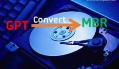 How to convert GPT to MBR Disk