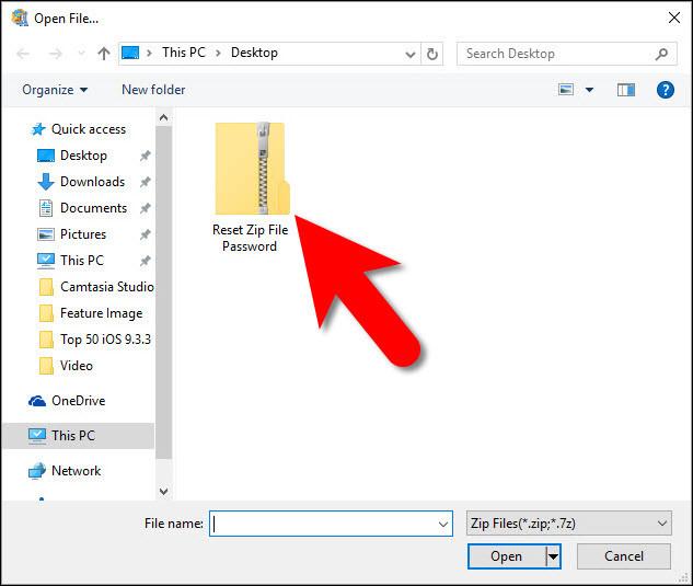 How to Reset Zip File Password?
