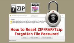 How to recover a lost zip file password