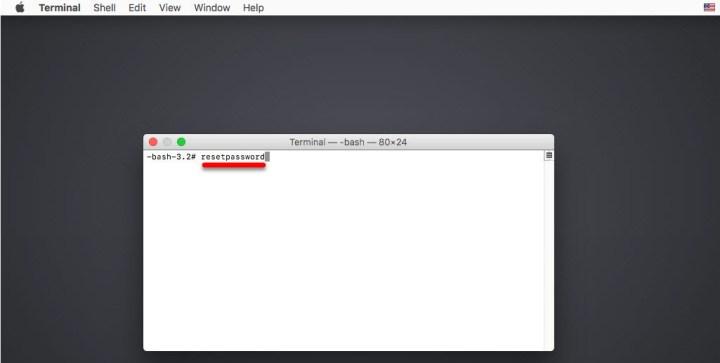 How to reset MacBook Pro password if forgotten