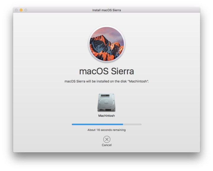 Installing macOS Sierra on MacBook Device