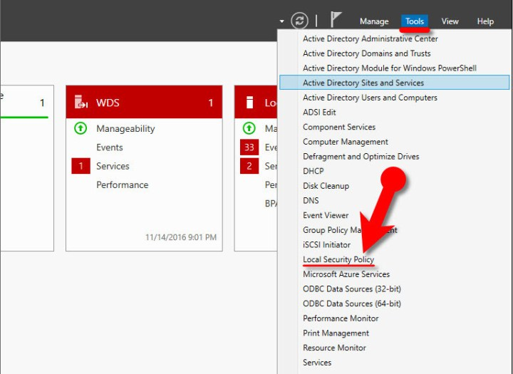 Enable or Disable CTRL+ALT+DEL on Windows Server 2016