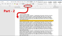 Set Paragraph Setting in Microsoft Word 2016-Part 2