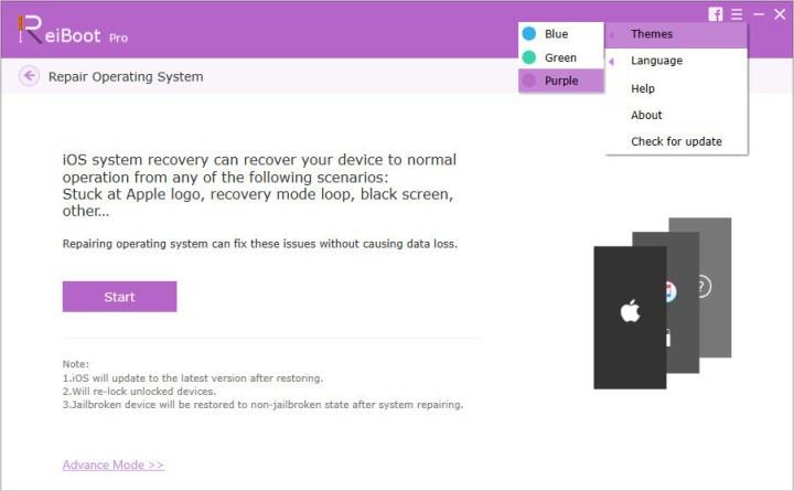 Fix iPhone/iPad/iPod Stuck and Booting Problems Via ReiBoot