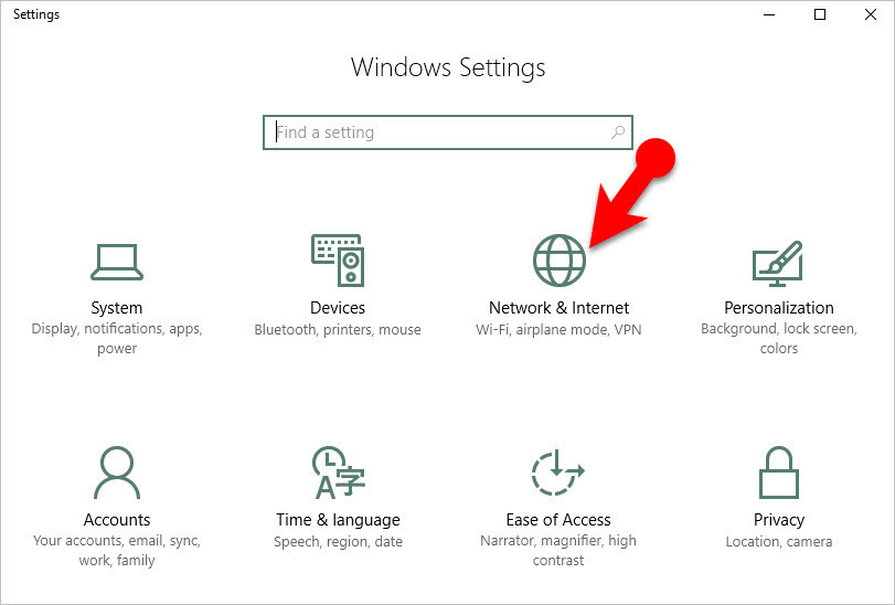 how to fix missing network adapters in windows 10