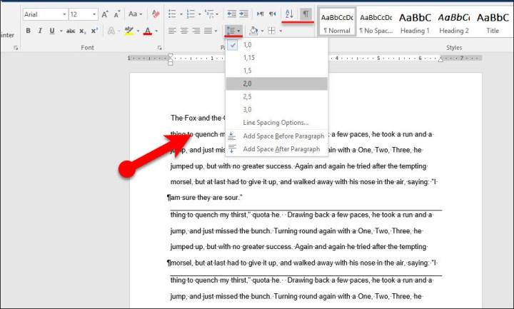 Set Paragraph Settings in Microsoft Word 2016-Part 2
