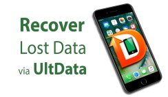 How to Recover lost or deleted Data of iPhone 7654 via UltData (iPhone Data Recovery)