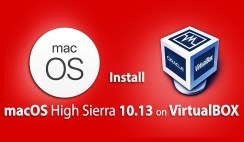 How to Install macOS High Sierra 10.13 on VirtualBox on Windows