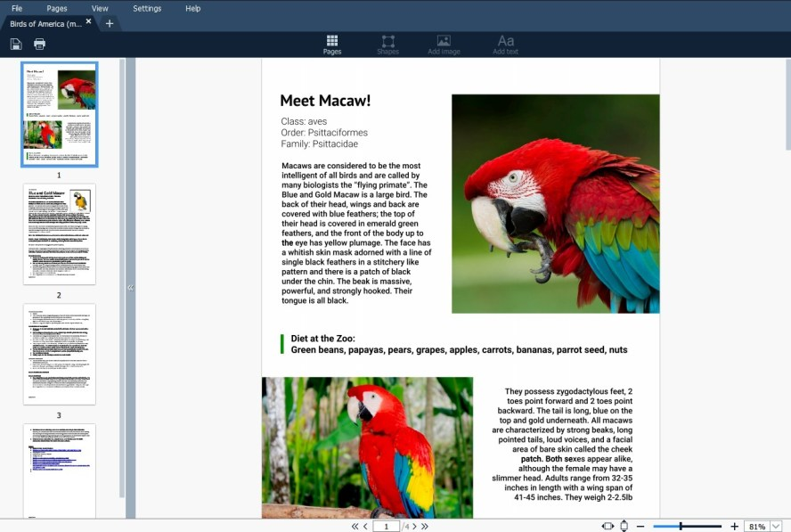The Best PDF Editor for Windows and Mac - Movavi PDF Editor