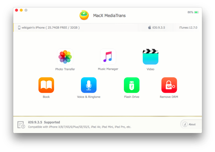 Ultimate iPhone iPad manager for Mac - MacX MediaTrans ( Review)