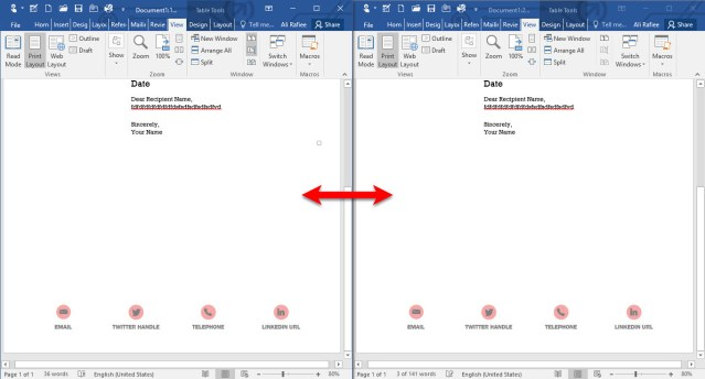 How to Manage Office Window in Microsoft Office 2016