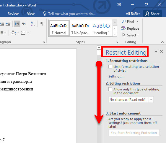 How to Protect Documents in Microsoft Office 2016