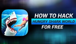 How to Hack Hungry Shark World on iOS 11 without Jailbreak or Human Verification