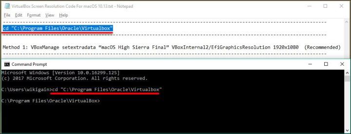 Fix VirtualBox macOS High Sierra Screen Resolution (1920x1080 - 4K - 5K)