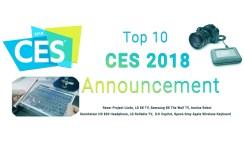 Top 15 Best CES 2018 Announcement