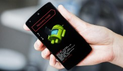 Take screenshot on Android Recovery Mode