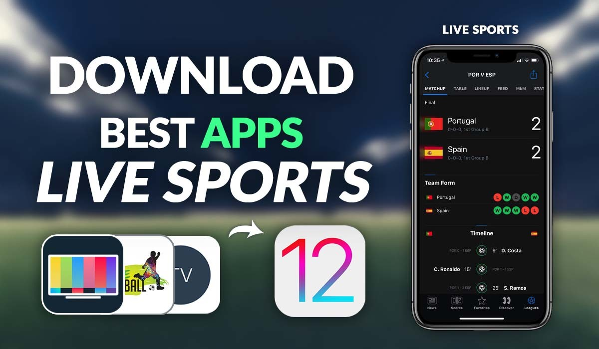 Top 10 streaming sports apps