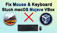 How to Fix mouse and keyboard stuck on VirtualBox