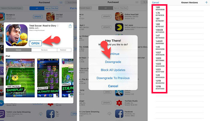Downgrade AppStore Apps & Games With Jailbreak