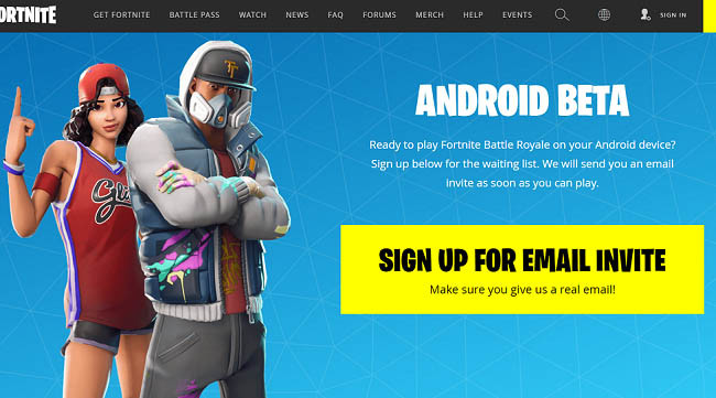 Fortnite Available For Android Devices
