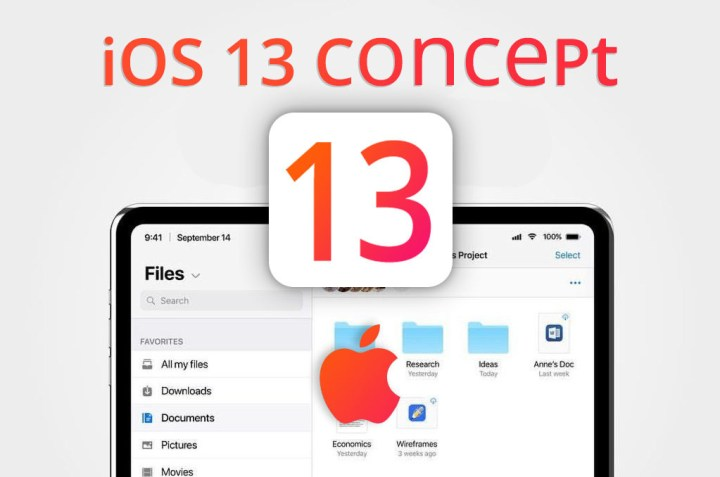"""Apple iOS 13 Concept Theory """"Release Date & Features"""""""
