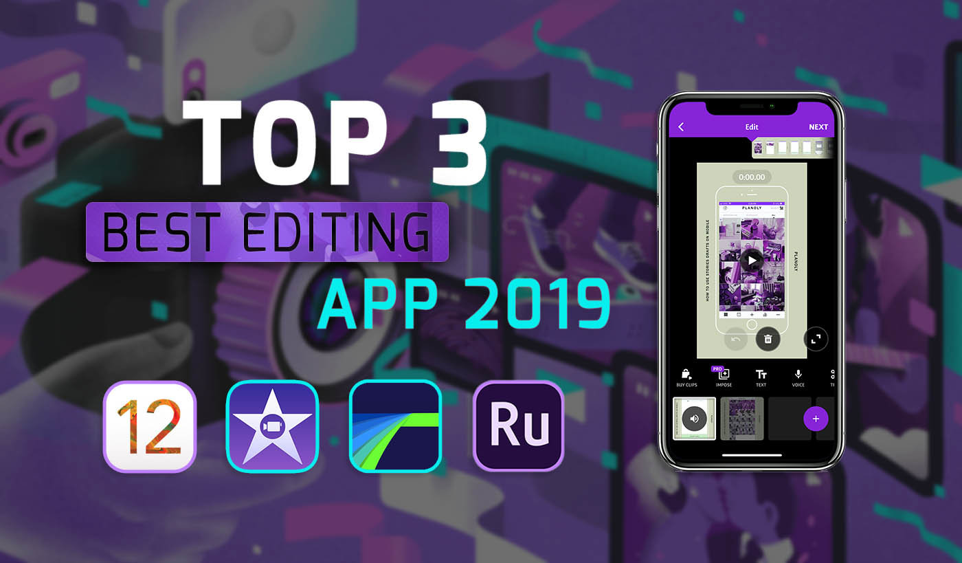 best video editing programs for iphone