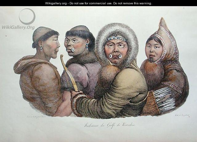 Natives of the Gulf of Kotzebue, Alaska, from
