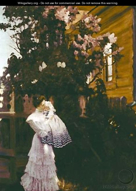Lilacs - Boris Kustodiev