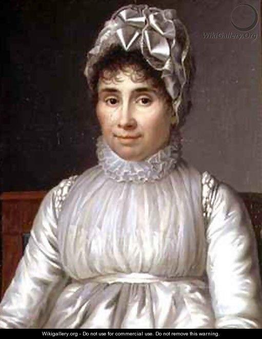 Portrait of Madame Claude Perier - Jean Baptiste Francois Desoria