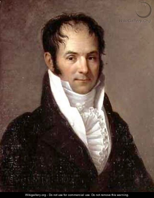 Portrait of Camille Teisseire 1764-1842 - Jean Baptiste Francois Desoria
