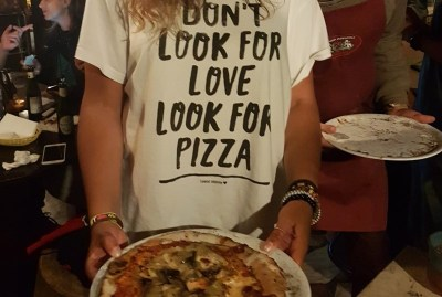 WIKI HOSTEL PIZZA PARTY tshirt