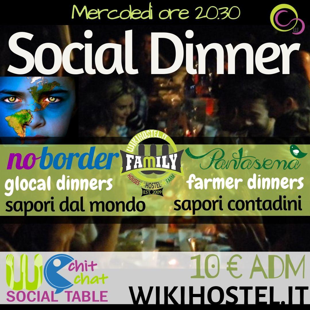 WIKI HOSTEL SOCIAL DINNER EXPERIENCE ita